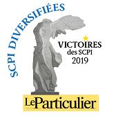 Le particulier - Victoire des SCPI Diversifiées 2019 2019 SCPI France Investipierre
