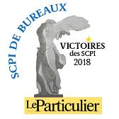 Le particulier - Victoire des SCPI Bureaux 2018 2018 SCPI Accès Valeur Pierre