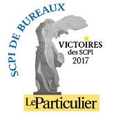 Le particulier - Victoire des SCPI Bureaux 2017 2017 SCPI Accès Valeur Pierre