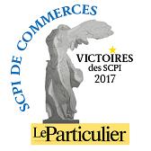 Le particulier - Victoire des SCPI Commerces 2017 2017 SCPI Pierre Sélection